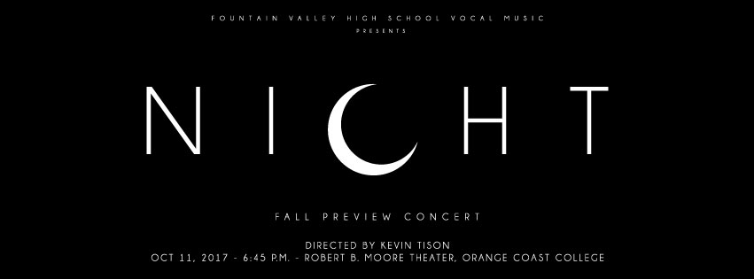 """Experience the Beauty of """"Night"""" with the FVHS Choirs"""